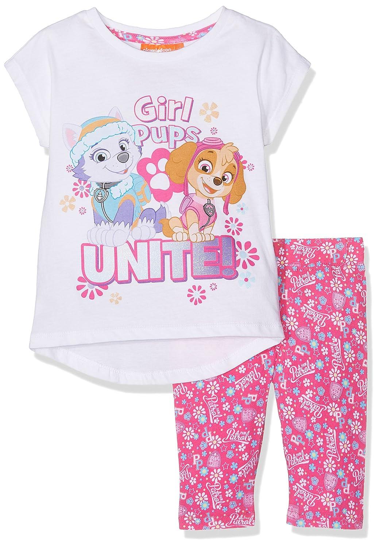 Nickelodeon Girl's Paw Patrol Sportswear Set White QE1440