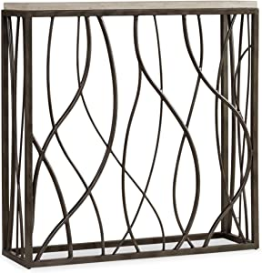 Hooker Furniture Thin Metal Console, Whites/Cream/Beiges