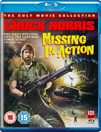 Missing In Action [Blu Ray]  Missing In Action Poster