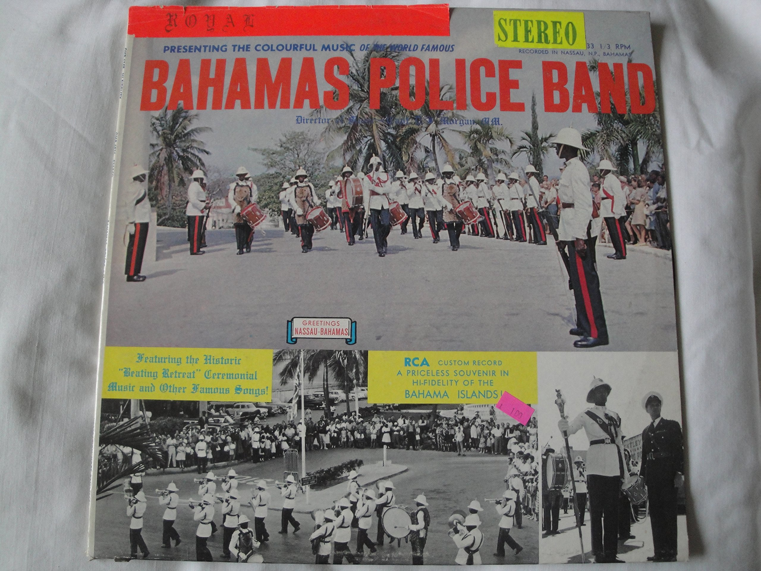 Presenting the Colourful Music of the World Famous BAHAMAS POLICE BAND by Penny Farthing, Ltd.