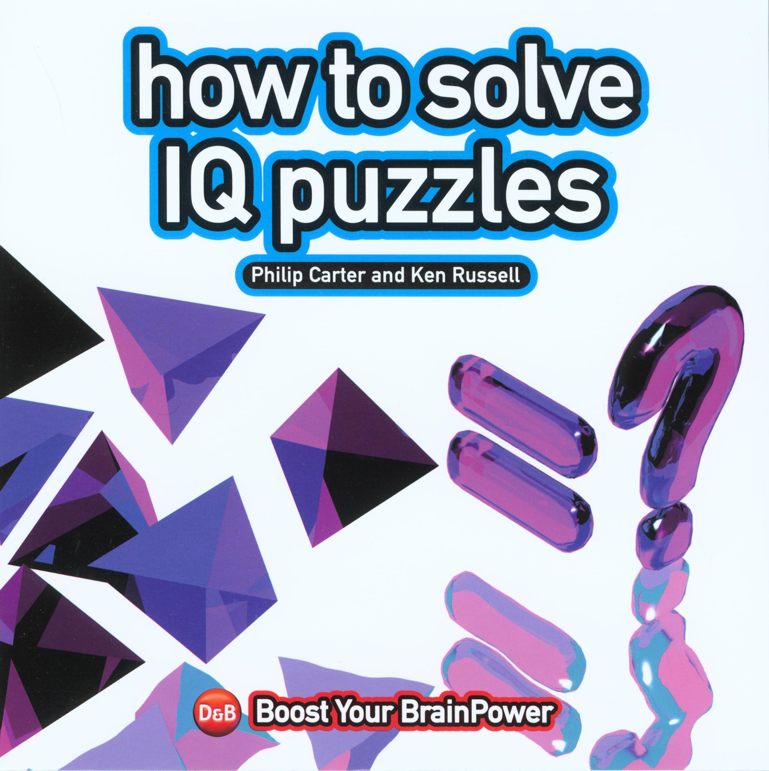 How Solve Puzzles Philip Carter product image