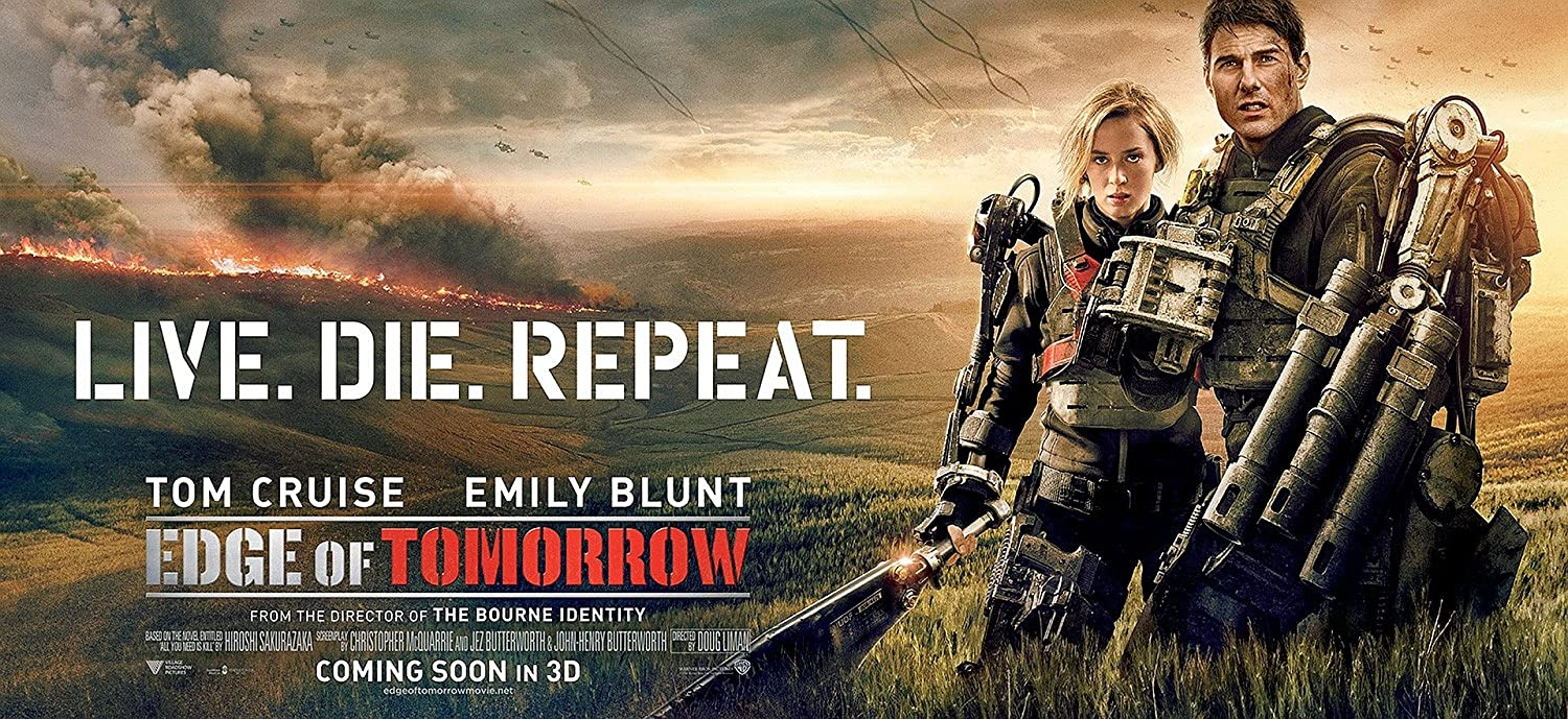 Posterhouzz Movie Edge Of Tomorrow Tom Cruise Emily Blunt Hd