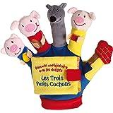 Le livre-gant : Les trois petits cochons