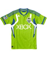 MLS Seattle Sounders FC Replica Youth Home Jersey Lime Green/Blue