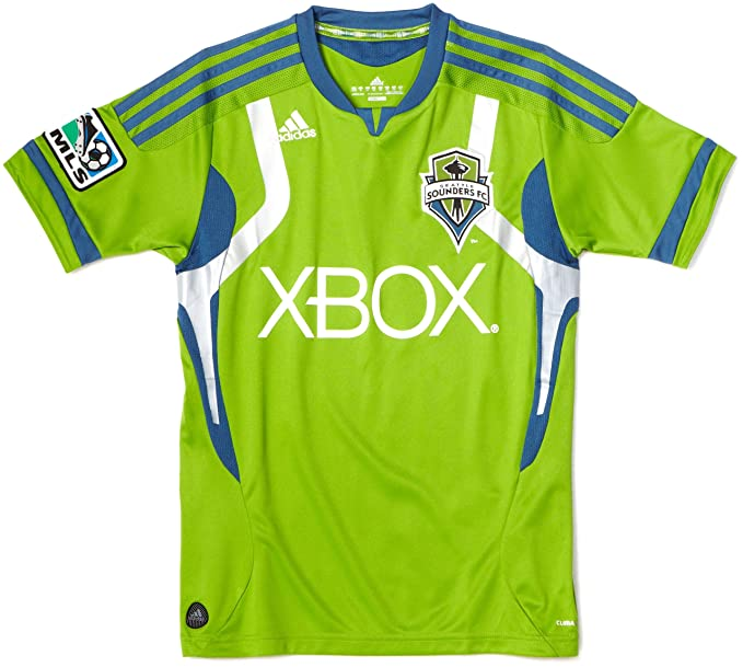 detailed look 09df6 38a55 Amazon.com : MLS Seattle Sounders FC Replica Youth Home ...