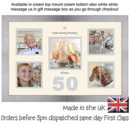 """40th Birthday Photo Frame 4/""""x4/"""" x4 and 5/""""x5/"""" Photo by Photos in a Word 967D"""
