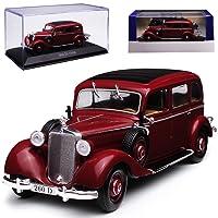 alles-meine GmbH Mercedes-Benz 260D Limousine Rot Braun 1936-1940 1/43 Atlas Modell Auto