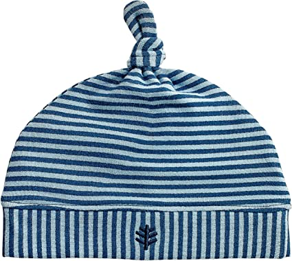 Coolibar UPF 50 Baby Beanie Hat and Blanket Set