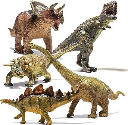 Amazon Com Prextex Juego De 5 Piezas De Dinosaurios Gigantes Para Ninos Y Bebes Realistas Grandes Juguetes De Dinosaurio Para Los Amantes De Los Dinosaurios Perfectos Regalos De Fiesta De Dinosaurios Regalos Porque a nosotros realmente sí que nos apasionan y esperamos que todos estos dinosaurios de juguete grandes os gusten tanto como a nosotros. prextex juego de 5 piezas de dinosaurios gigantes para ninos y bebes realistas grandes juguetes de dinosaurio para los amantes de los