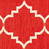 Safavieh Courtyard Collection CY6889-248 Red and