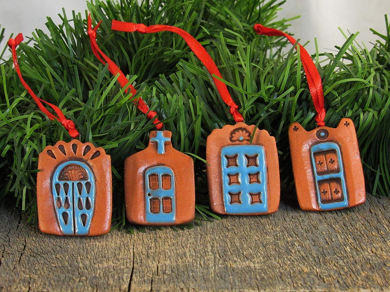 Handcrafted Southwest Terra Cotta 3-Piece Nativity Set