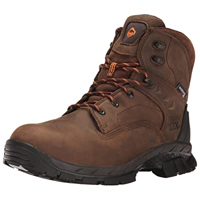 "Wolverine Men's Glacier Ice Insulated Waterproof 6"" Comp Toe Work Boot 