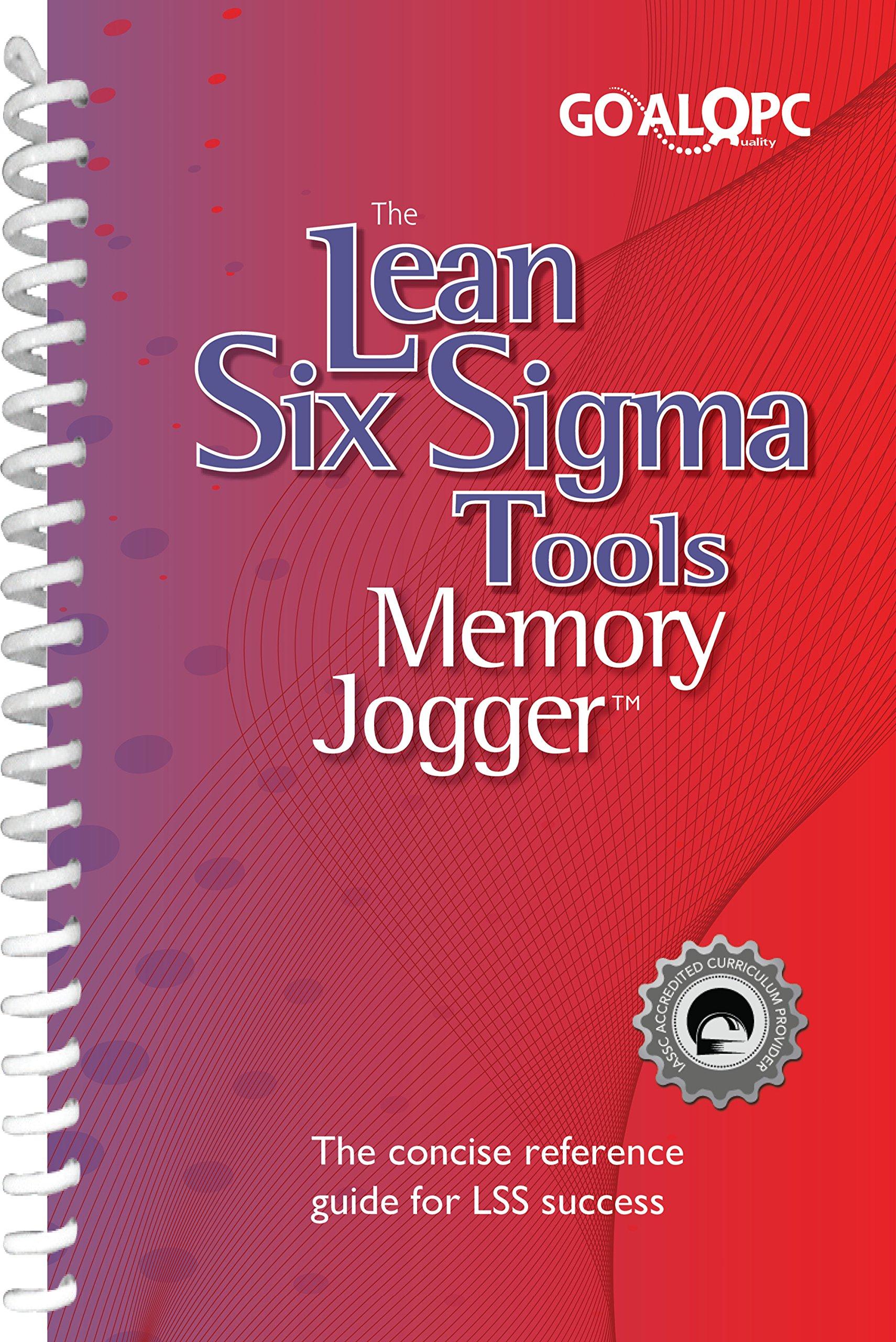 Lean Six Sigma Tools Memory Jogger Sarah Carleton Six Sigma