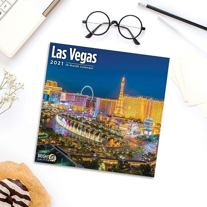 Las Vegas Calendar 2022.Las Vegas 2021 2022 24 Month Wall Calendar W Beautiful Pictures Casino Views Collectibles Chsalon Calendars
