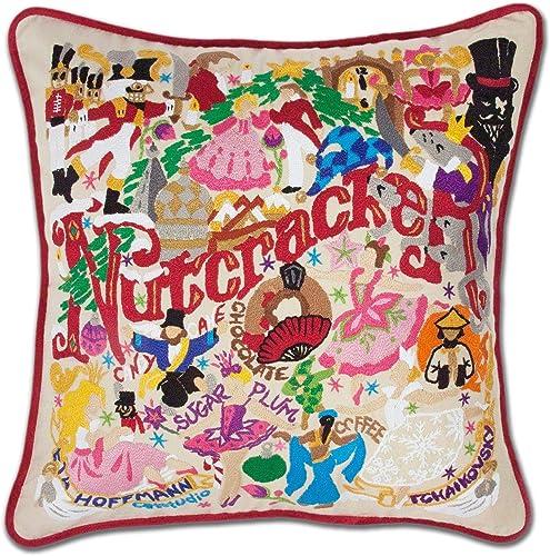 Catstudio Nutcracker Embroidered Decorative Throw Pillow