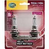 HELLA 9006 80WTB Twin Blister High Wattage Bulbs, 12V, 2 Pack