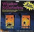 Amscan International 459021 Window Spider Silhouette