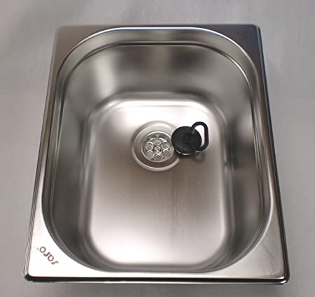 Ad Ideen.Ad Ideen Camping Sink Stainless Steel Drain 1 1 2 Inch 325