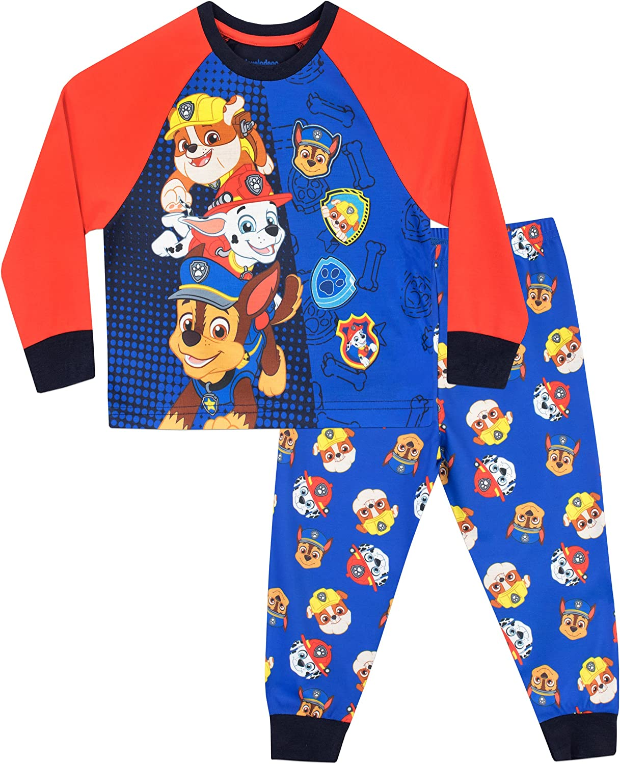Official Chase Paw Patrol Boys Long Sleeve Top Age 4 Years