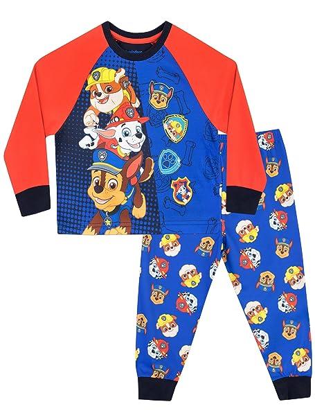 Paw Patrol Pijama para Niños La Patrulla Canina Multicolor 12-18 Meses