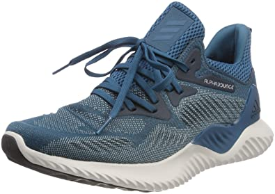 buy popular 5f01b ce0be adidas Alphabounce Beyond M Chaussures de Running Homme, Rouge Maroonraw  Lime S16,