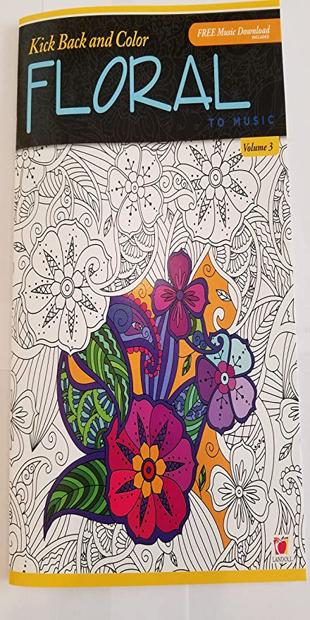 Amazon.com: Color to Music: Adult Coloring Book With Music ...