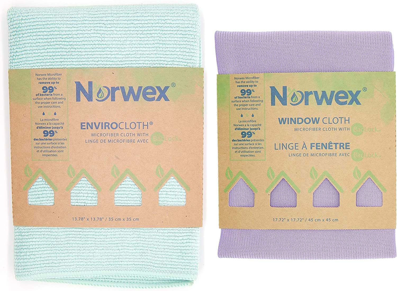 Norwex Basic Window & Enviro Cloth Set