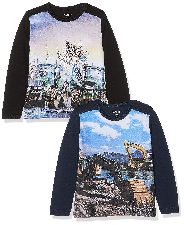 Care Jungen T-Shirt mit Photo Print im 2er Pack