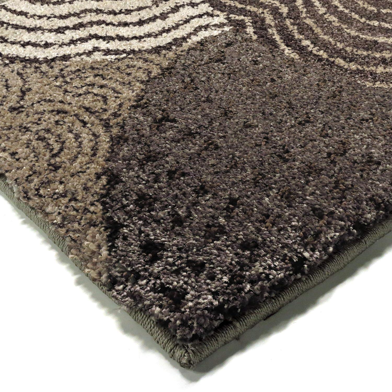Black 2/'3 x 8/' CW1//OYSH//80KS//068x245 23 x 8 Orian Rugs Wild Weave Oystershell Seal Runner Rug