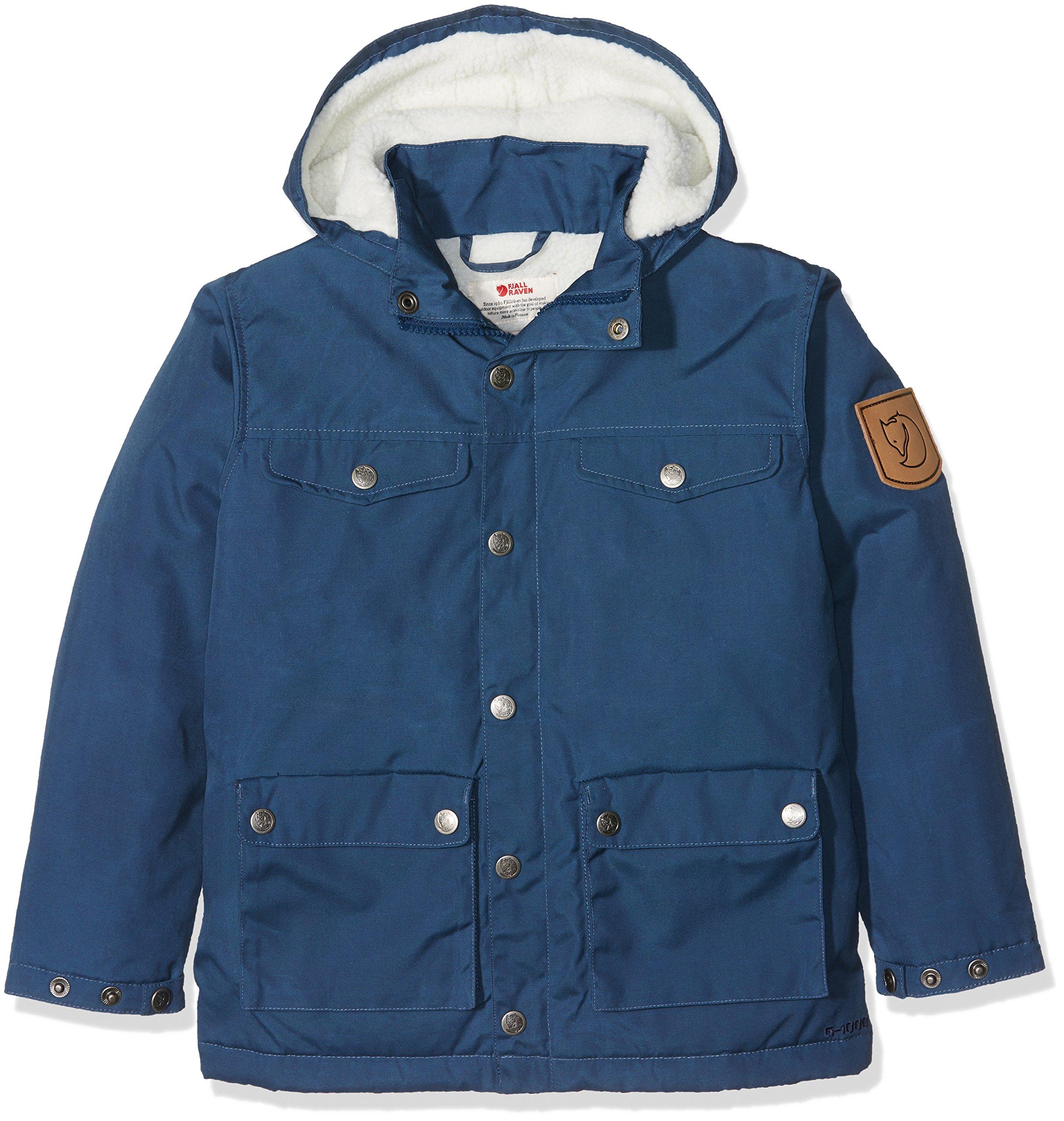 Fjällräven Kids Unisex Kids Greenland Winter Jacket Blueberry 122 (6-7 Years Old)