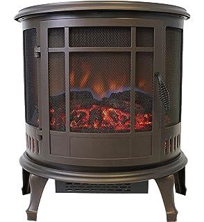 Amazon.com: Estate diseño estufa eléctrica 24