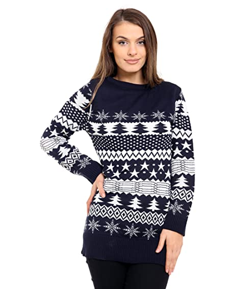 Generation Fashion New Ladies Women Knitted Long Sleeve Christmas ...