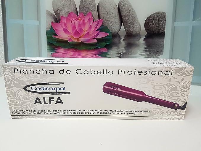 Plancha Alfa Codisarpel: Amazon.es: Belleza