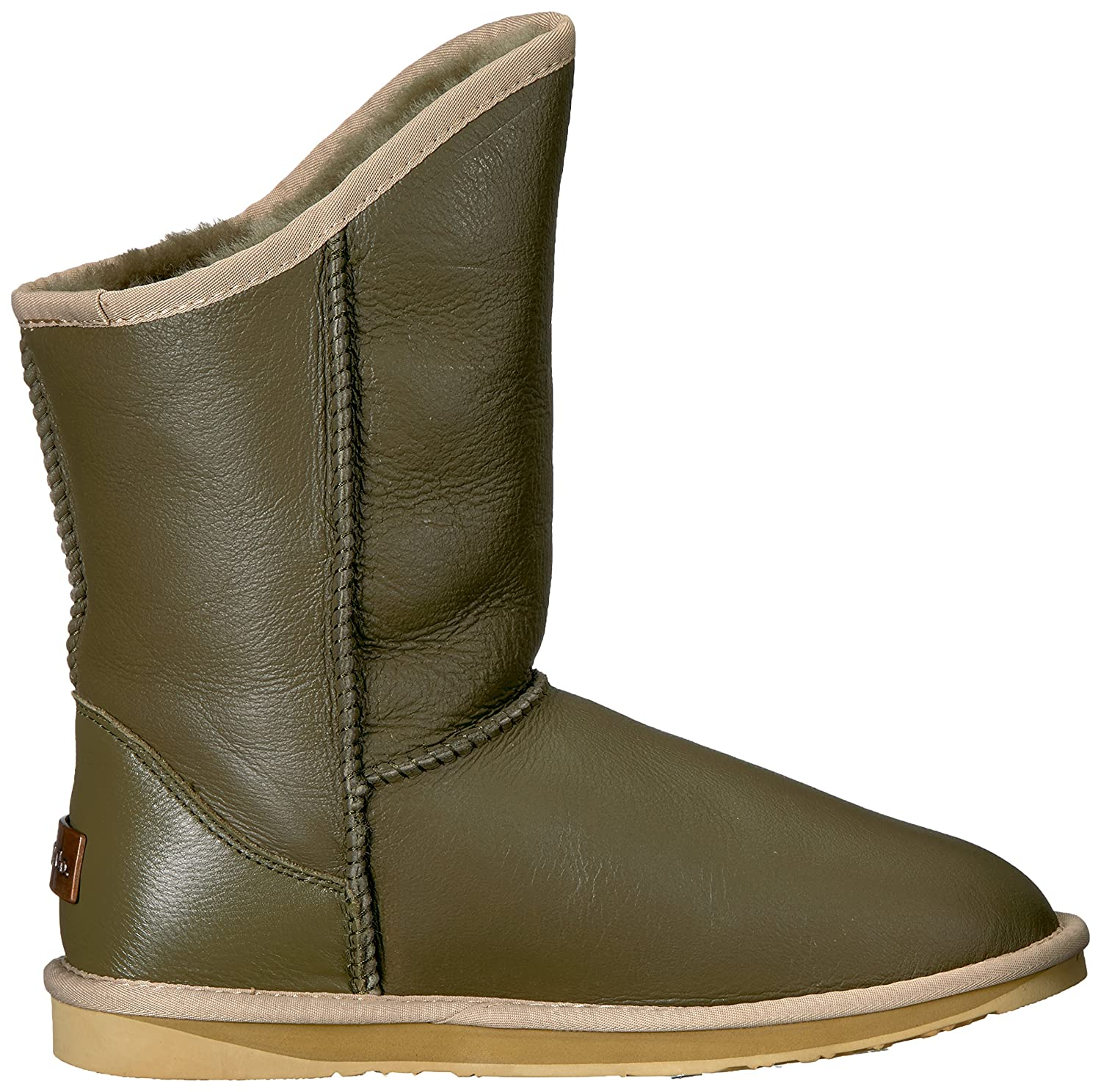 Luxe Boots Co............................. Womens Cosy Short Closed Toe Mid-Calf Fashion Boots Luxe B075FY2KWT 8 B(M) US|Army 43e08e