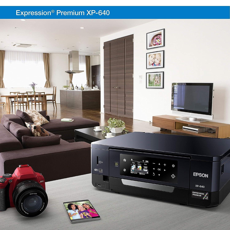 Epson Xp 640 Wireless Color Photo Printer 27 Amazon Australian 610 Phone Socket Wiring Diagram Dash Replenishment Enabled Electronics