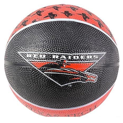 Texas Tech University - Mini balón de baloncesto, color negro y ...