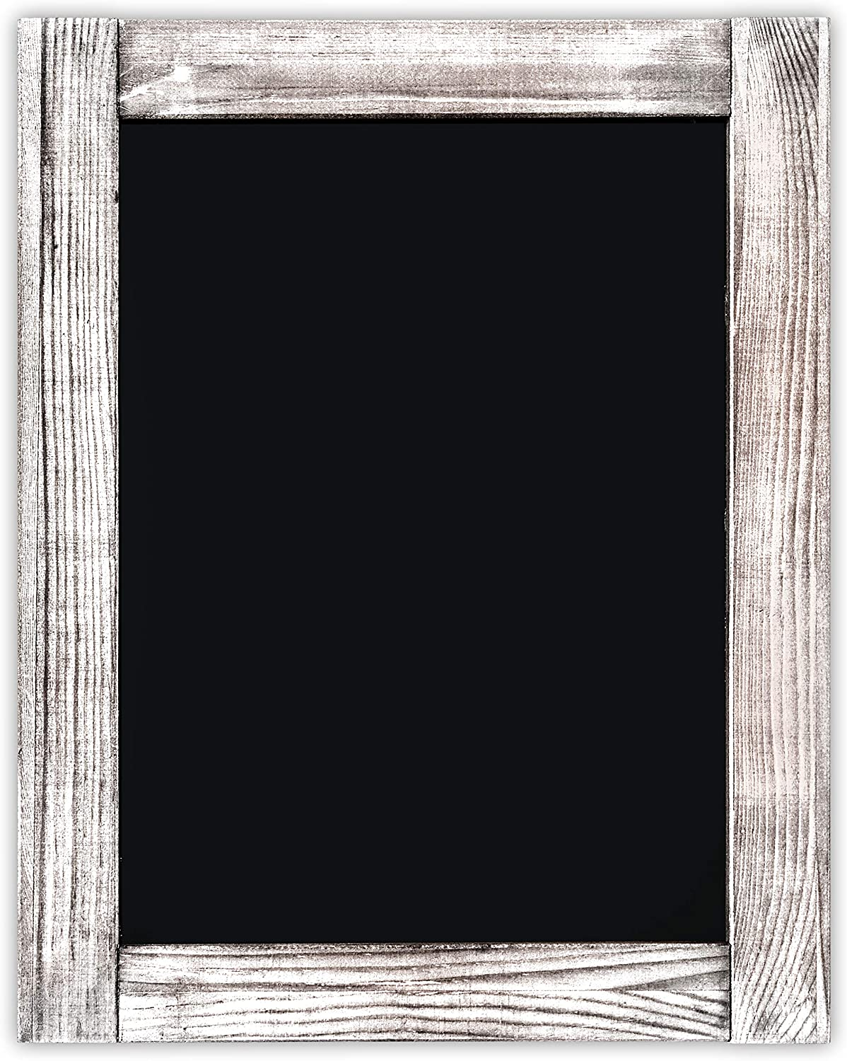 Chalkboard | Magnetic, Non-Porous | Vintage Decor | Whitewash Finish | Chalk Board for Wedding, Kitchen, Bar, Restaurant, Menu & Home | Chalkboard Sign | 11 x 14 inches | Wall Mounted Chalkboard