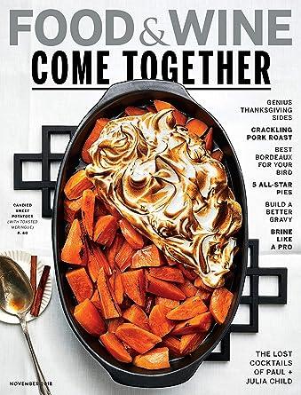 Food & Wine: Amazon com: Magazines