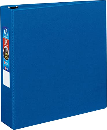 LOT OF 12 Archival 2 inch Round Ring Binders Blue