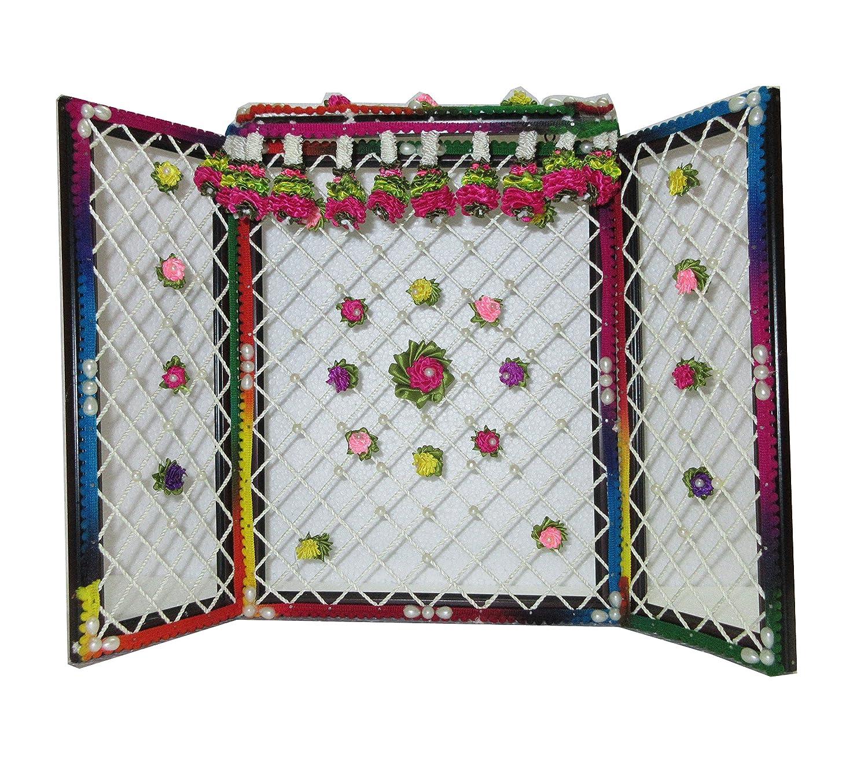 Buy Vrindavan Bazaar Phool Bangla with Artifical Flower Decorations ...