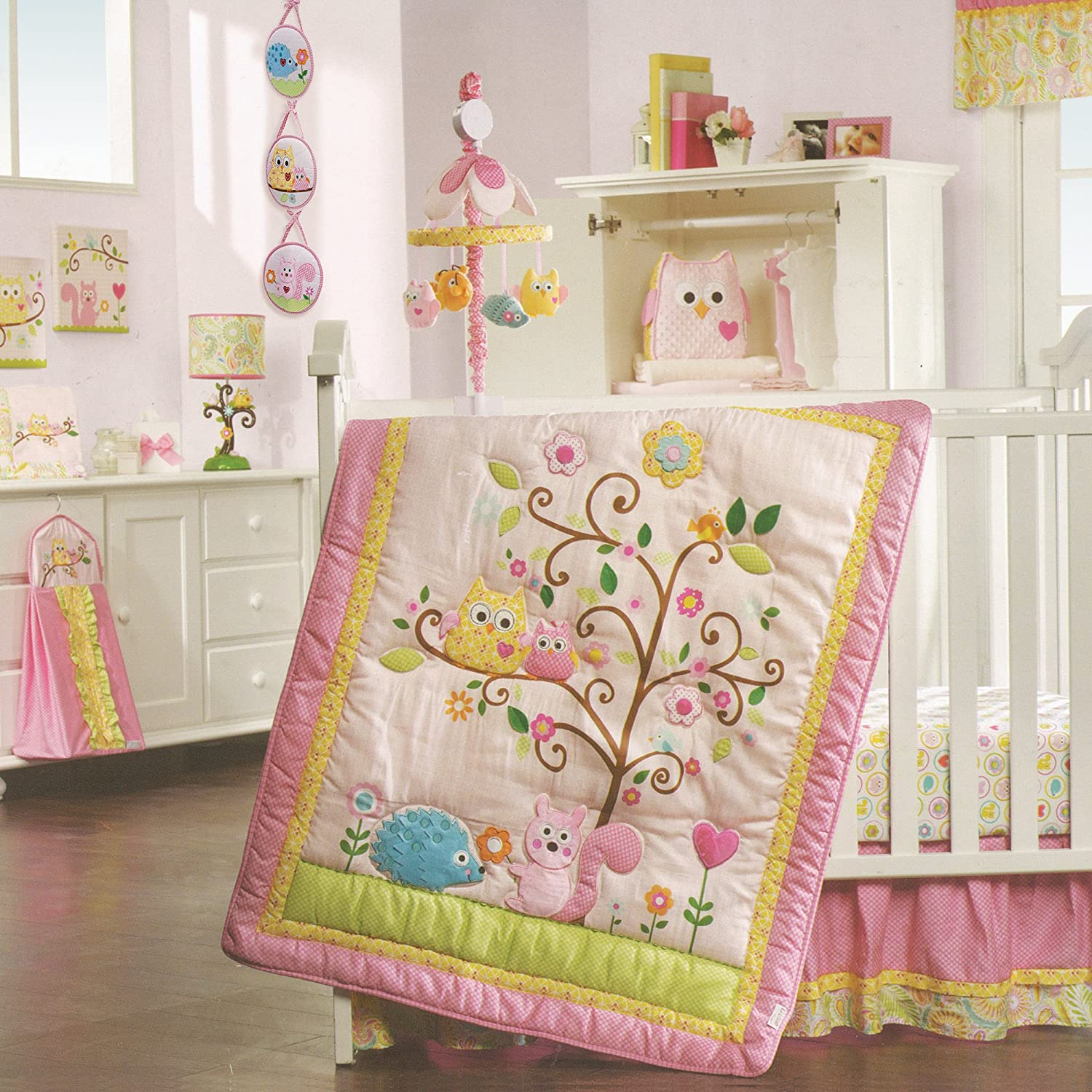 Lambs & Ivy Dena Happi Tree 8 Piece Bedding Set [並行輸入品]   B00SAX1C1A
