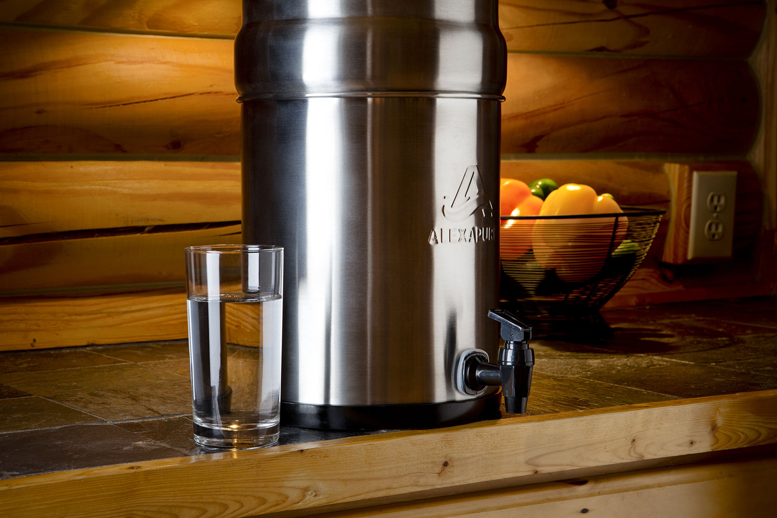 Alexapure Pro Stainless Steel Water Filtration System - 5,000 Gallon Throughput Capacity by Alexapure (Image #7)