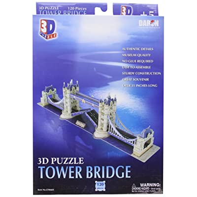 Daron London Tower Bridge 120-Piece: Toys & Games