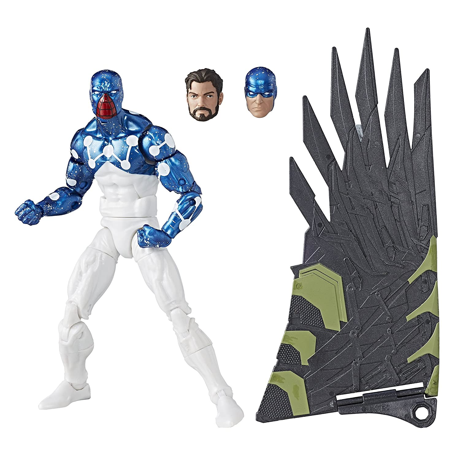 Marvel Legends Spider-Man Cosmic Spider Man Action Figure (Build Vulture's Flight Gear), 6 Inches Hasbro A6655