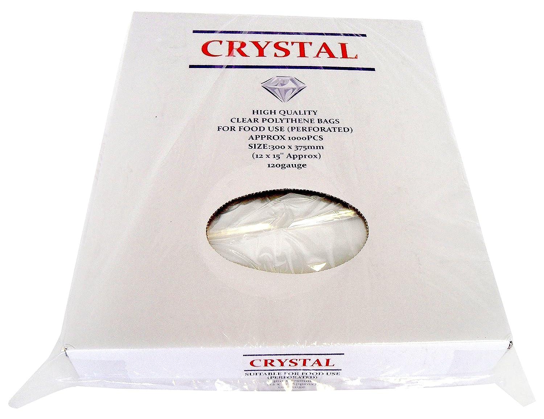 Crystal YA810 Poly bag, Light Duty 100/120EQ, 8 x 10-Inch (Pack of 1000)
