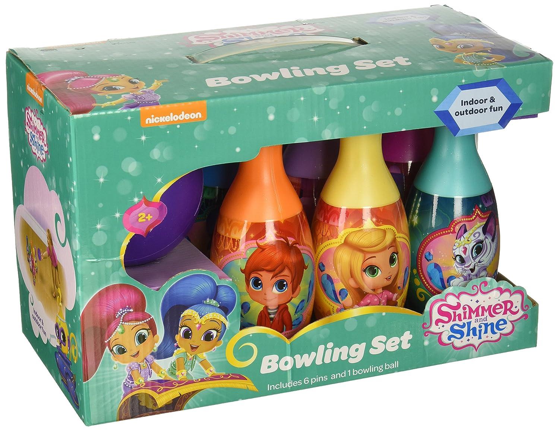 Nickelodeon What Kids Want Shimmer & Shine Bowling Set Toy 26135SHIM