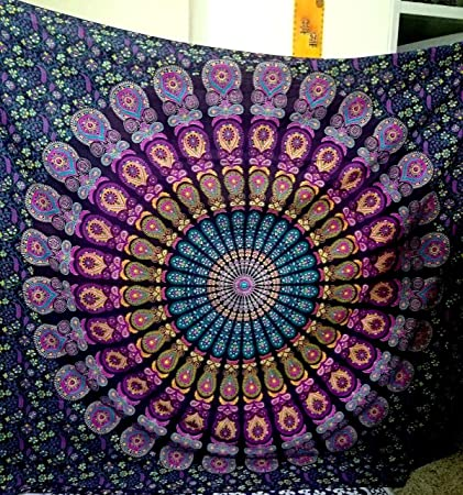 Amazon Com Sultan Handicrafts Indian Mandala Tapestry Indian