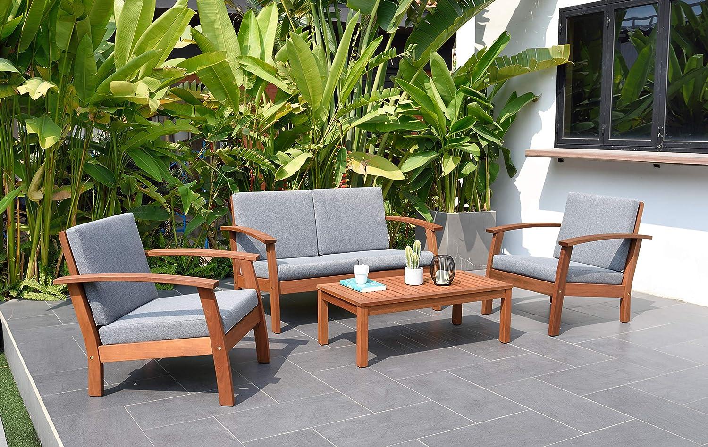 Amazon.com: Brampton Norwalk - Juego de muebles de 4 piezas ...