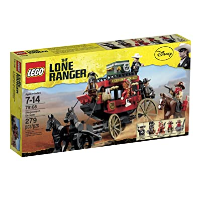 LEGO The Lone Ranger Stagecoach Escape (79108): Toys & Games