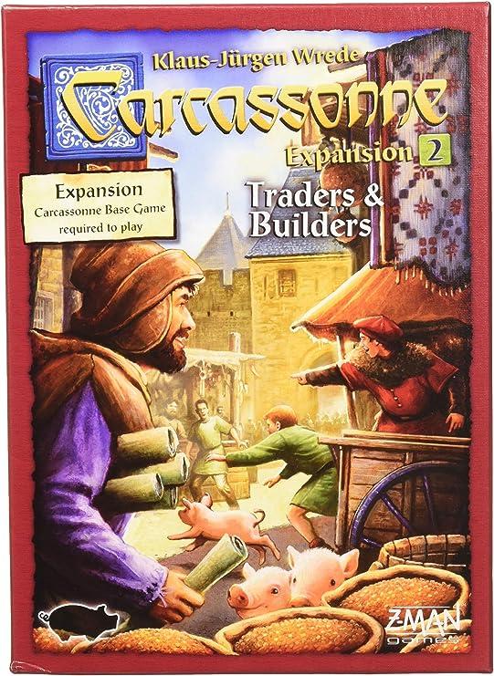 Carcassonne Traders /& Builders Expansion RARE ORIGINAL DESIGN